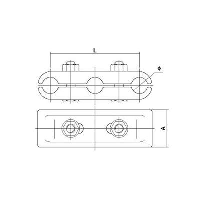MSJ型三分裂软母线间隔棒